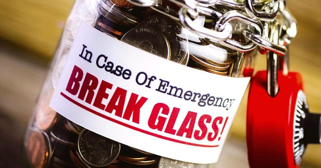 Quanto costa troppo in fondo di emergenza?