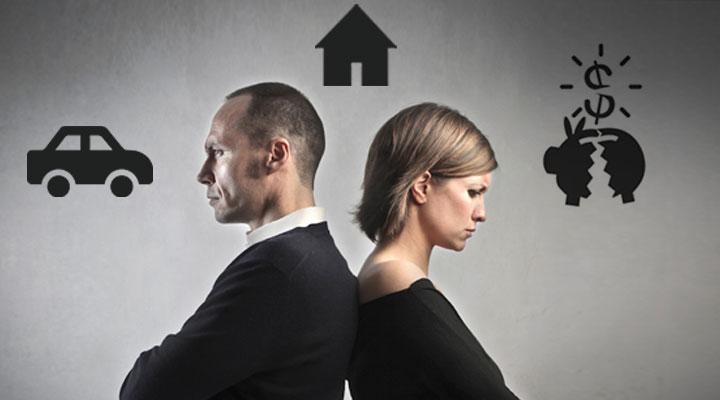 Sprievodca Najbežnejším finančné otázky rozvodu
