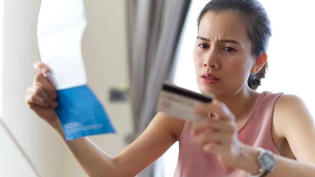 O que fazer quando você não pode efetuar seu pagamento mínimo com cartão de crédito